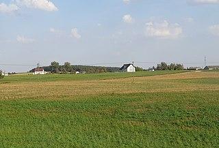 Zapluskowęsy Village in Kuyavian-Pomeranian, Poland