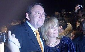 Zbigniew Buczkowski - Zbigniew Buczkowski with his wife in 2008