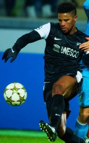 Eliseu - Eliseu playing for Málaga in 2012