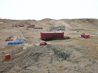 Antarctic base in China