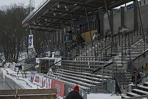 Bandy World Championship - Zinkensdamms IP, venue for the final at the XXVIth championships in 2006
