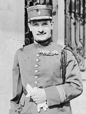 Zinovy Peshkov - French general Zinovy Peshkov, 1926