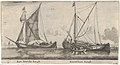 """A Friesland Ketch and a Gelderse Keth,"" from ""Various Ships and Views of Amsterdam, part II"" MET DP832776.jpg"