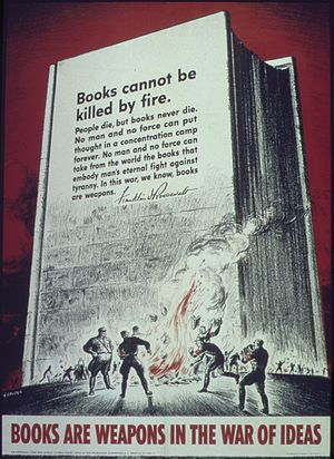 """""""Books are weapons in the war of ideas&qu..."""
