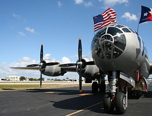 "Fort Lauderdale Executive Airport - ""FIFI (aircraft),""one of the world's only airworthy B-29 Superfortress, visiting KFXE in 2012."