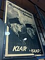 """Nasjonalsosialistiske kjempere KLAR TIL KAMP"", Norwegian Nazi Hirden poster in exhibition at Norway's Resistance Museum in Oslo, photo 2017-11-30.jpg"