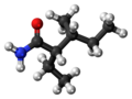 (2S,3R)-Valnoctamide molecule ball.png