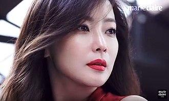Kim Hee-sun - Image: (Marie Claire Korea) 영원한 아름다움, 김희선 (2)