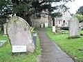 (Very) slippery path at St Thomas A'Becket - geograph.org.uk - 726334.jpg