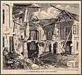 Árvíz Buda. A Csekeő-féle ház a Dunaparton. Vasárnapi Ujság, 1875.jpg