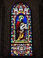Église Notre Dame et Saint-Junien de Lusignan, vitrail 07.JPG