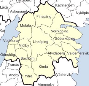 Östergötland County - Image: Östergötland County