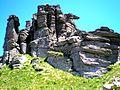 """Šumiac-Kráľova hoľa-""""skalné mesto Petra"""" - panoramio.jpg"""