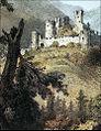 Žovnek Castle 1860.jpg