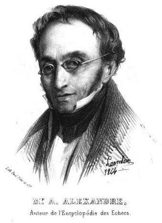 Aaron Alexandre - Aaron Alexandre portrayed by Alexandre Laemlein (1844)