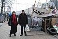 Ангеліна Яр і Леонід Кононович на Євромайдані, 19.01.2014.jpg