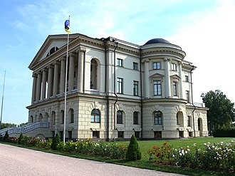 Baturyn - The neo-Palladian palace in Baturyn, designed by Andrey Kvasov and rebuilt by Charles Cameron.