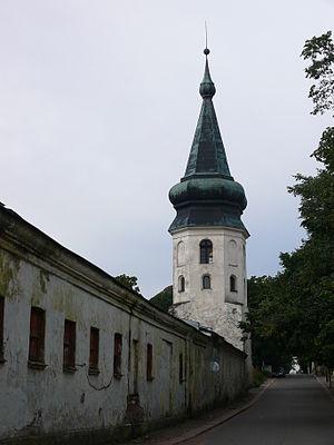 Vyborg town wall - Image: Выборг. Башня Ратуши