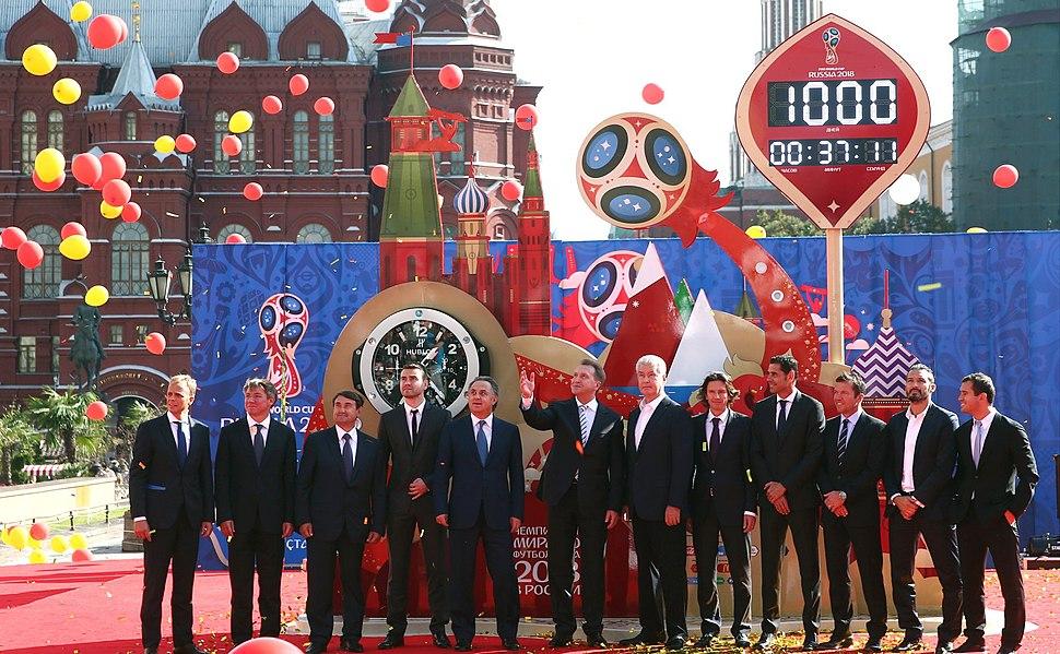 До чемпионата мира по футболу 2018 года – 1000 дней 01
