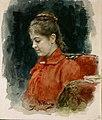 Илья Репин. Портрет Елизаветы Васильевны Лавровой. 1890 год.jpg