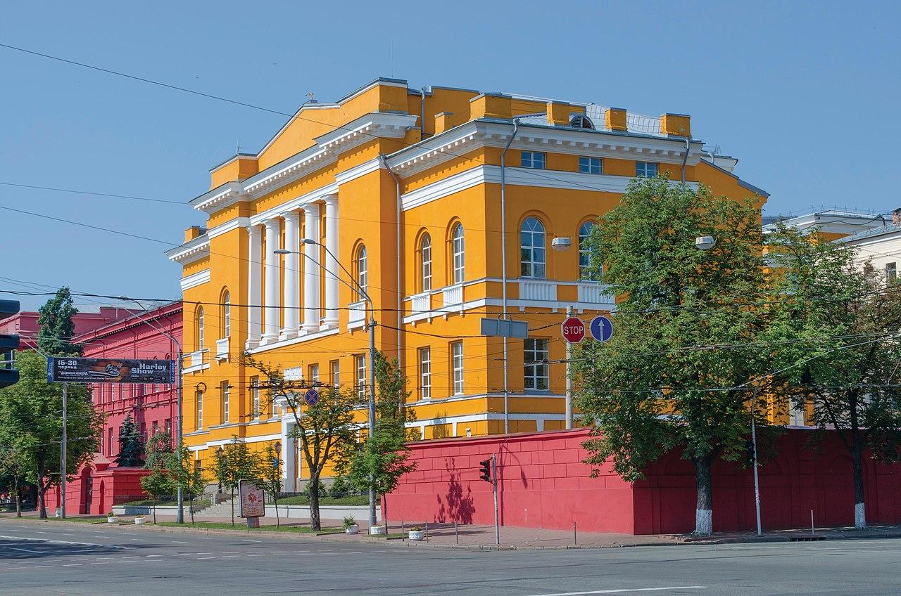 Ucrania mapa - Calle Volodymyrska