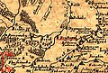Краснопіль (Великі Сорочинці) на карті Боплана 1648 року.jpg