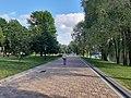 Мінск. Набярэжная каля парка 40-годдзя Кастрычніка (02).jpg