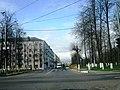 Перекрёсток улицы Гагарина с Ленинградским шоссе (Клин).jpg