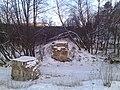 Разрушенный мост узкоколейки через речку Шушпу.jpg