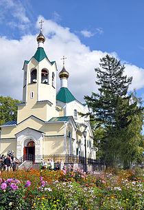 Храм г. Николаевск-на-Амуре 2012 года.