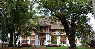 History of Kochi - The Bolgatty Palace, built in 1744, by Dutch traders, is one of the oldest existing Dutch-era palaces outside of the Netherlands.