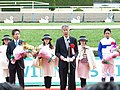 ロードカナロア引退式 - 京都競馬場 - Retirement ceremony of Lord Kanaloa - Kyoto Racecourse (12050227503).jpg