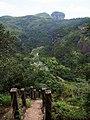 下隐屏峰 - Descending from Yinping Peak - 2015.07 - panoramio.jpg