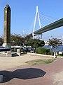 天保山公園と阪神高速 - panoramio.jpg