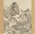 清 王時敏 仿黃公望山水圖 軸 絹本-Landscape in the style of Huang Gongwang MET DP165242.jpg