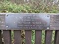 -2018-12-06 David SAAB McNier dedicated bench, Pigney Woods, Knapton, Norfolk.JPG