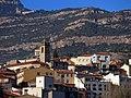 009 Monistrol de Montserrat, amb el campanar de Sant Pere.JPG