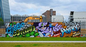 03-05-2014 - Graffiti near European Central Bank - EZB - Frankfurt Main - Germany - 07.jpg