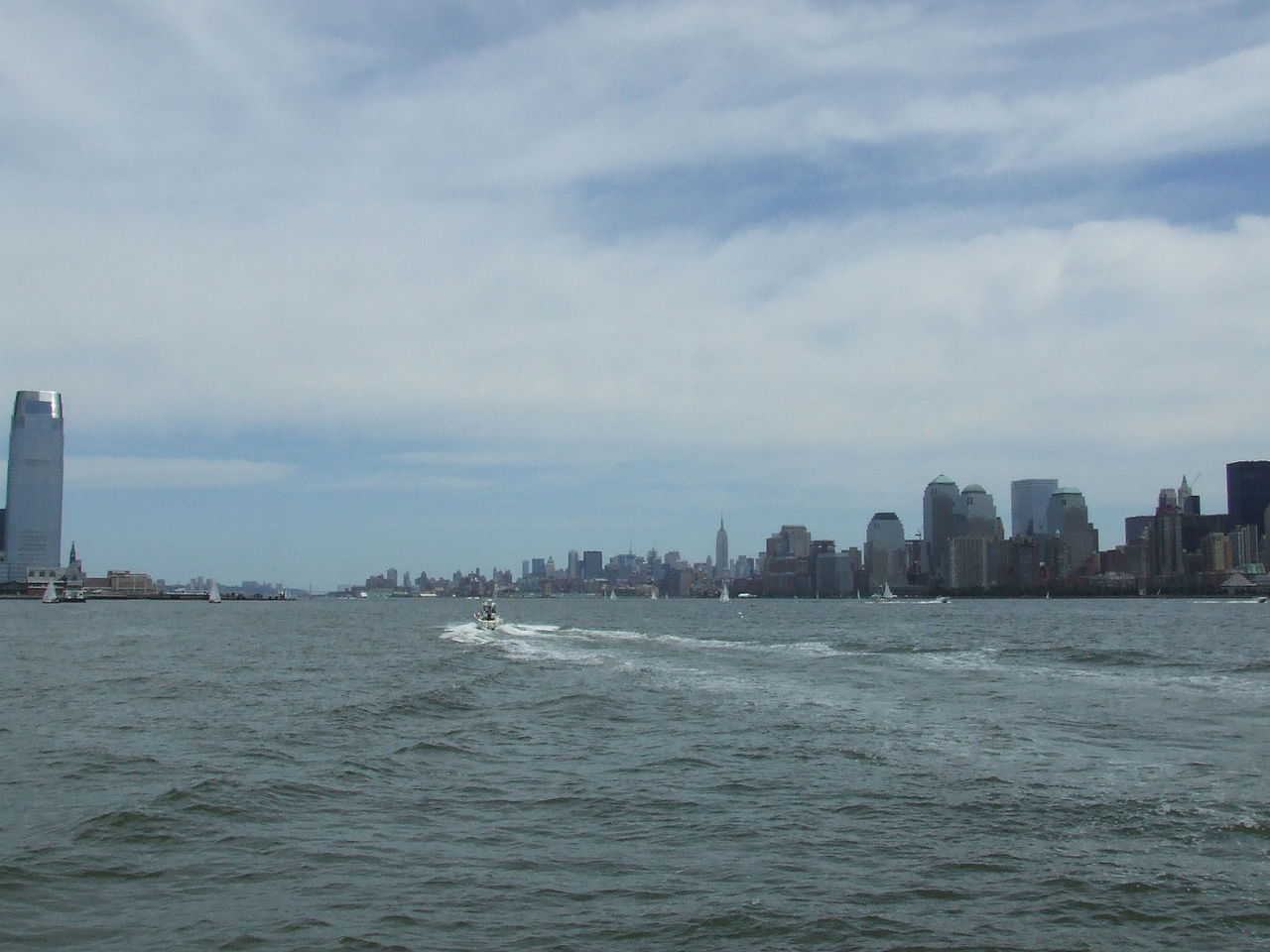 Beyond the Hudson River