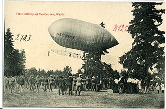 Gelatine (airship) - Gelatine (1906)