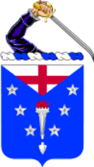 104th Infantry Regiment (United States) - Coat of arms