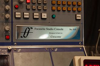 Focusrite - Image: 10 Plate of Focusrite Studio Console @ Sound City Setagaya DSC 1813