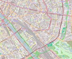Géolocalisation sur la carte : 12e arrondissement de Paris/Paris/France