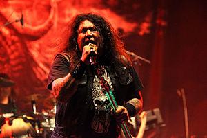 Chuck Billy (vocalist) - Billy with Testament