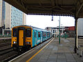 150255 at Cardiff Central railway station, 9 November 2014.jpg