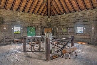 Fort Benjamin Hawkins - Image: 15 28 001 hawkins