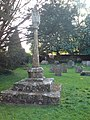 15th Century Cross, Holy Rood Church, Ampney Crucis - geograph.org.uk - 421949.jpg