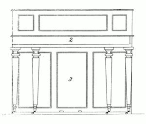 Robert Wornum - Wornum's Unique piano, 1811 patent