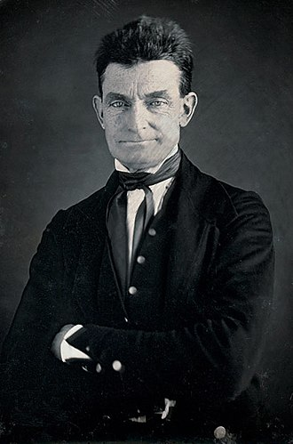 John Brown (abolitionist) - Photo by Augustus Washington, circa 1846–1847