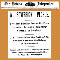 18891109 Montana statehood granted - The Helena Independent.png
